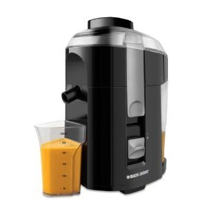 Black & Decker JE2200B 400-Watt Fruit and Vegetable Juice Extractor with Custom Juice Cup Deal