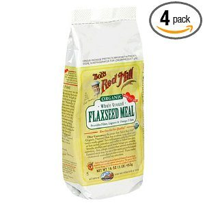 Bob's Red Mill Organic  Flaxseed Meal, 16-Ounce Packages (Pack of 4) Deal