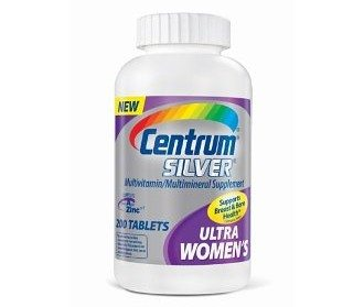 Centrum Ultra Silver, For Women 50+, 200-Count Bottle Deal