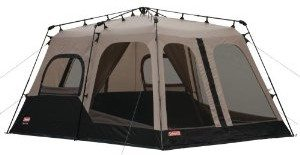 Coleman Instant 14- by 10- Foot 8- Person Two Room Tent Deal