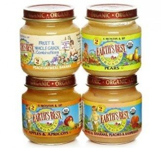 Earth's Best Organic 2nd Fruit Variety Pack, 4-Ounce Jars (Pack of 12) Deal