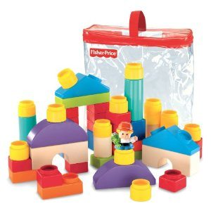 Fisher-Price Little People Builders Classic Shapes Blocks Deal