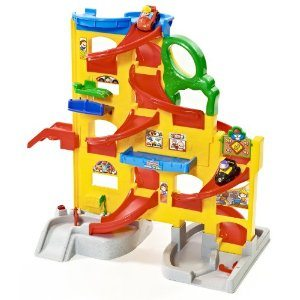 Fisher-Price Little People Wheelies Stand 'n Play Rampway Deal