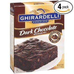 Ghirardelli Dark Chocolate Brownie Mix Deal