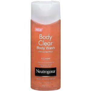 Neutrogena Body Clear Body Wash, Pink Grapefruit, 8.5 Ounces Deal