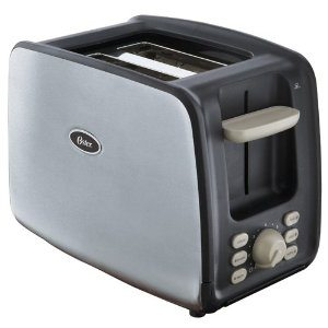 Oster 6340 2-Slice Toaster with Retractable Cord, Brushed Stainless Steel Deal