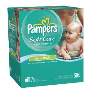 Pampers Sensitive 3X Wipes Deal