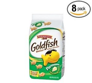 Pepperidge Farm Goldfish, Parmesan Cheese, 6.6-Ounce (Pack of 8) Deal