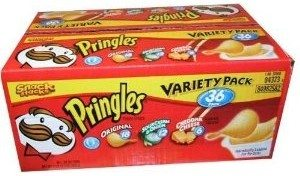 Pringles Variety Pack Potato Chips Deal