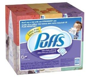 Puffs Ultra Soft and Strong Facial Tissues Deal