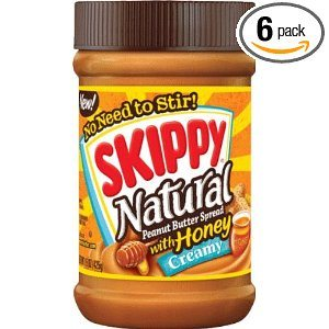 Skippy Creamy Peanut Butter, Natural with Honey Deal