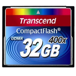 Transcend 32 GB Compact Flash Card 400X (Blue) Deal