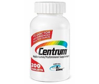 Centrum Base Multivitamin, Adult Under 50, 200-Count Deal