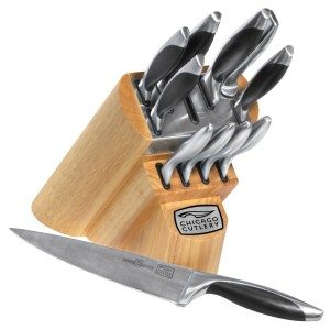 Chicago Cutlery Landmark 12-Piece Knife Set with Block Deal