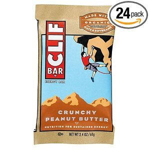 Clif Bar Energy Bar, Crunchy Peanut Butter, 2.4-Ounce Bars (Pack of 24) Deal