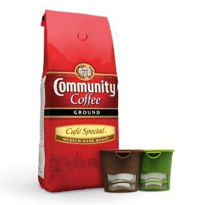 Community Coffee Café Special 12 oz Bag, 2 Ekobrew's  (Buy Ekobrew's get 1 Coffee Free) Deal