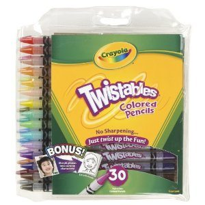 Crayola 30ct Twistables Colored Pencils Deal