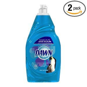 Dawn Ultra Dishwashing Liquid, Original Scent, Blue,  24 Ounce (Pack of 2) Deal