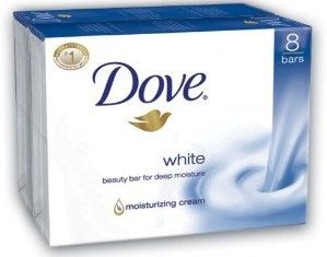 Dove Bar Soap, White, 16 Count Deal