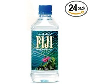 FIJI Natural Artesian Water, 16.9-Ounce bottle (Pack of 24) Deal
