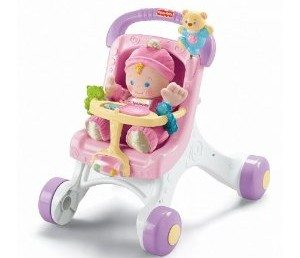 Fisher-Price Brilliant Basics Stroll-Along Walker Deal