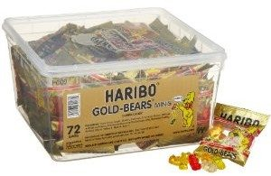 Haribo Gold-Bears Minis, 72-Count Bags Deal