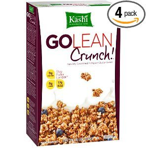 Kashi GOLEAN Crunch! Cereal, 15-Ounce Boxes (Pack of 4)  Deal