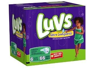 Luvs Premium Stretch Diapers with Ultra Leakguards Deal