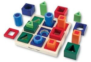 Melissa &  Doug Shape Sequence Sorting Set Deal