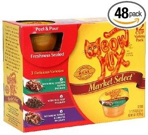 Meow Mix Market Select Cat Food Deal
