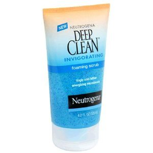 Neutrogena Deep Clean Invigorating Foaming Scrub, 4.2 Ounce Deal