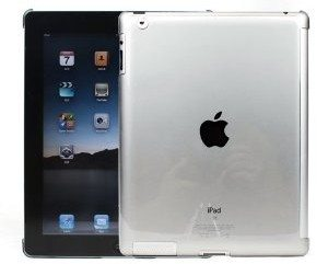Smart Cover Partner Snap On Slim-Fit Case for Apple iPad 2 - Crystal Clear Deal