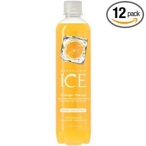 Sparkling ICE Spring Water, Orange Mango, 17-Ounce Bottles (Pack of 12) Deal