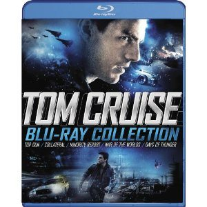 Tom Cruise Blu-ray Collection (Collateral/Days of Thunder/Minority Report/Top Gun/War of the Worlds) Deal