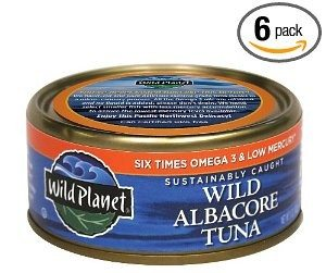Wild Planet Sustainably Caught Wild Albacore Tuna, 5 Ounce Cans (Pack of 6) Deal