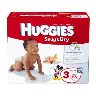 huggies snug & dry hot deal