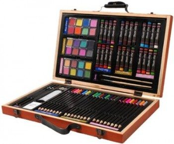 80-Piece Professional Art Set Deal