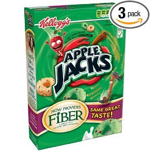Apple Jacks Cereal, 12.2-Ounce Boxes (Pack of 3) Deal