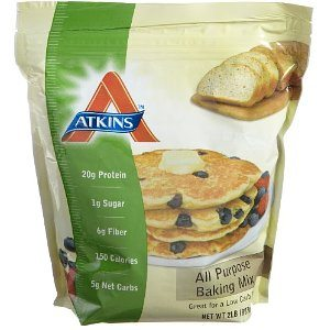 Atkins All Purpose Bake Mix, 2-Pound Bag  Deal