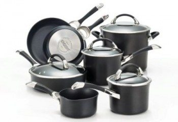 Circulon Symmetry Hard Anodized Nonstick Cookware Set, 11-Piece Deal
