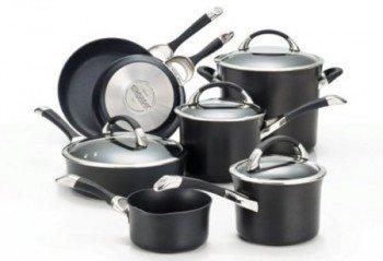Circulon Symmetry Hard Anodized Nonstick Cookware Set, 11-Piece Deal