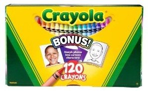 Crayola 120ct Original Crayons Deal
