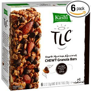 Kashi TLC Chewy Granola Bar, Dark Mocha Almond, 6-Count Bars (Pack of 6) Deal