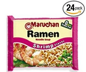 Maruchan Ramen, Shrimp, 3-Ounce Packages (Pack of 24) Deal