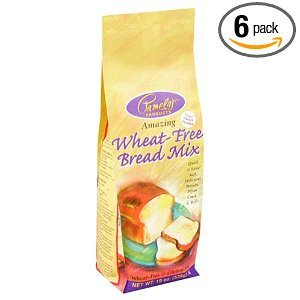 Pamela's Products Wheat-Free & Gluten-Free, Amazing  Bread Mix, 19-Ounce Packages (Pack of 6) Deal