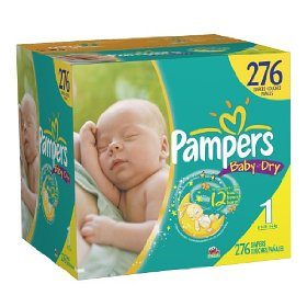 Pampers Baby Dry Diapers Deal