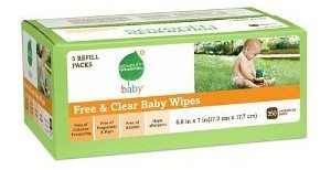 Seventh Generation Free & Clear Baby Wipes, 350 count Deal