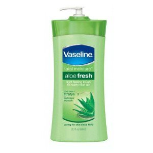Vaseline Aloe Fresh Hydrating Body Lotion with Aloe 20.3 Ounce (Pack of 3) Deal