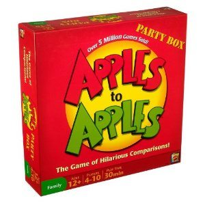 Apples to Apples Party Box - The Game of Hilarious Comparisons (Family Edition) Deal