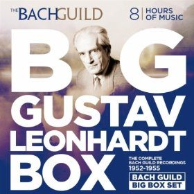 Big Gustav Leonhardt Box The Bach Guild Recordings 1952-1955 Deal
